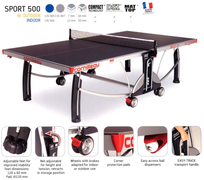 Compare the top 5 best kids table tennis tables jun 2018 - Table cornilleau 500m outdoor ...