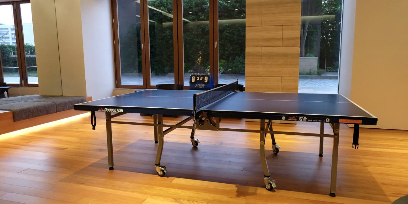 Is a ping pong table good for the workplace jul 2018 for Table ping pong interieur