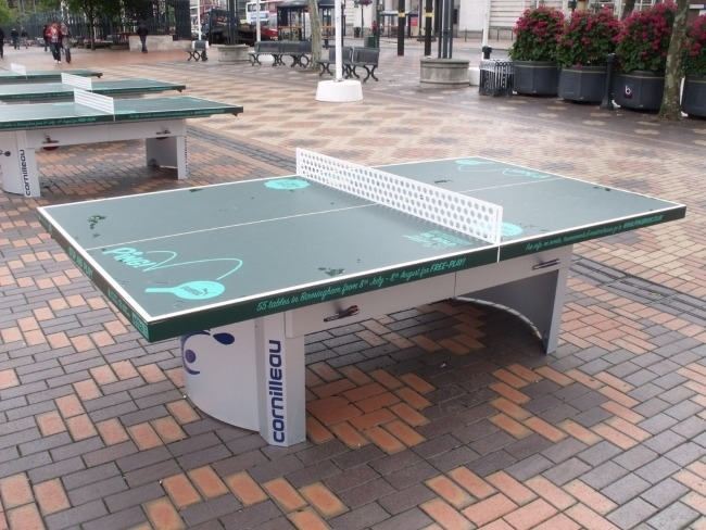 How to compare the best table tennis tables for outdoors - Cornilleau outdoor table tennis cover ...