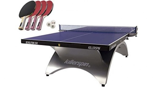 Killerspin SVR 301-09 Designer Ping Pong Table Package