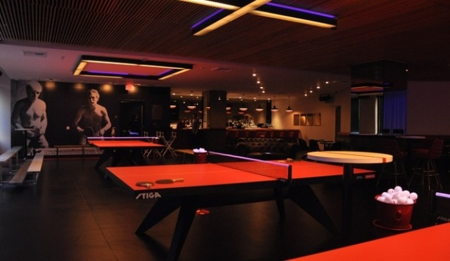 Ping pong in los angeles where to play apr 2018 - How much space for a ping pong table ...